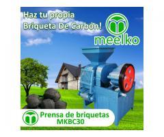 Prensa de Briquetas o Bloque MKBC30 Meelko