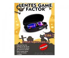 LENTES GAME FACTOR