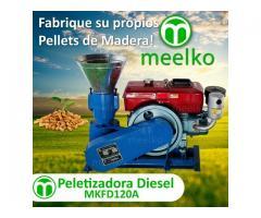 Peletizadora Diesel MKFD120A Meelko