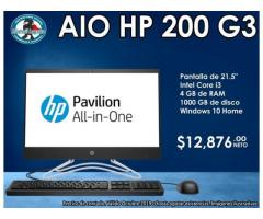 COMPUTADORA ALL IN ONE HP 200 G3