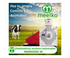 Peletizadoras anulares industriales MKRD420C-W meelko
