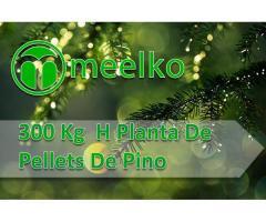 300 Kg  H Planta De Pellets De Pino meelko