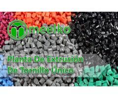 Planta De Extrusión De Tornillo Único MKSLE-90 meelko
