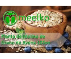 Planta de Molino de Grano de Avena 10Ton meelko
