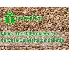 Planta De Elaboración De Cerveza De Malta de Cebada meelko