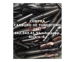 PEDACERIA DE CARBURO DE TUNGSTENO COMPRA Y VENTA