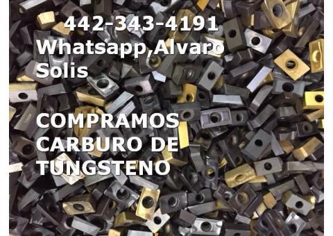 COMPRO INSERTOS DE CARBURO DE TUNGSTENO POR KILO EN SILAO