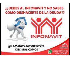 ¿Quieres deshacerte de tu deuda con Infonavit?