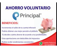 Incrementa tu pensión con un ahorro voluntario