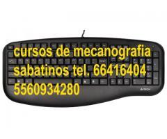 CURSO DE MECANOGRAFIA$150