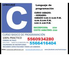 """CURSO BASICO DE PROGRAMACIÓN """"LENGUAJE C"""""""