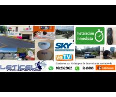 vetv sky instalación inmediata Oaxaca de Júarez
