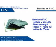 BANDA DE PVC PARA JUNTA CONSTRUCTIVA DE 4