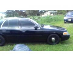 CROWN VICTORIA POLICE INTERCEPTOR 2005