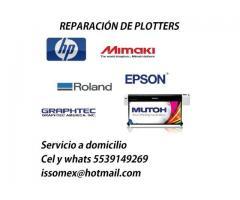 Reparación y Mantenimiento de Plotters y Impresoras