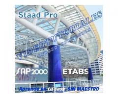 Sap2000, Etabs y Staad Pro para Cálculo estructural