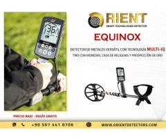 Equinox Es Un Moderno Detector De Metales Multipropósito Con Nueva Tecnología
