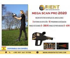 Mega Scan Pro 2020 - Potente detector de metales multipropósito