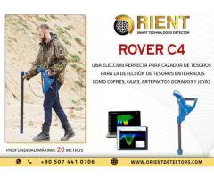 Rover C4, una nueva generación en detectores de metales 3D y escáneres de tierra