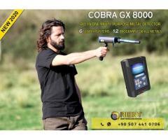Detector de metales versátil COBRA GX 8000 para prospectores