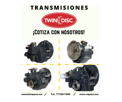 TRANSMISIONES TWIN DISC (COMPONENTES)