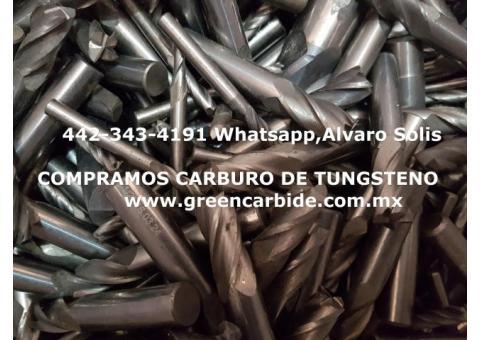 COMPRA SCRAP DE CARBURO DE TUNGSTENO EN CELAYA