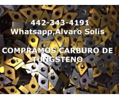 SCRAP DE CARBURO DE TUNGSTENO EN DURANGO COMPRA VENTA