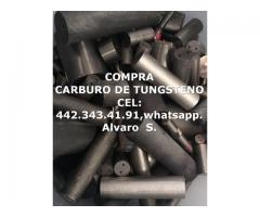 COMPRA SCRAP DE CARBURO DE TUNGSTENO EN ZACATECAS
