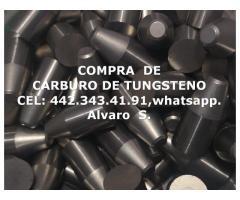COMPRA DE CARBURO DE TUNGSTENO EN ZACATECAS