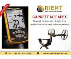 Garrett Ace Apex es un nuevo detector de metales innovador con nuevos