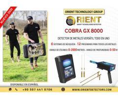 Detector de metales multisistema versátil COBRA GX 8000
