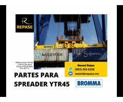 PARTES PARA SPREADERS YTR45 BROMMA