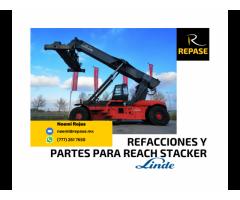 Refacciones y partes para Reach Stacker Linde