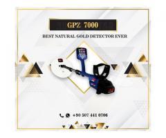 GPZ 7000 Mejor detector de oro natural