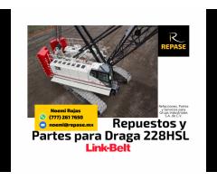 VENTA DE PARTES PARA DRAGA 228HSL LINK-BELT