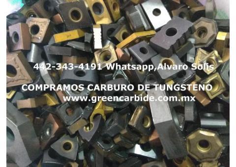 COMPRA DE CARBURO DE TUNGSTENO EN PIEDRAS NEGRAS