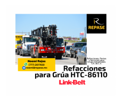 VENTA DE REFACCIONES PARA HTC-86110 LINK-BELT