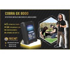 COBRA GX 8000 mejor buscador de tesoros - nuevo 2020