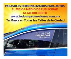 CORTINAS  PUBLICITARIAS PERSONALIZADAS PARA AUTO