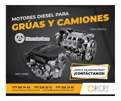 Refacciones y Motores Mercedez Benz para Grúas y Maquinaria