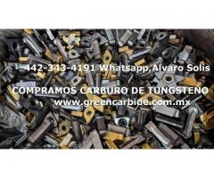 COMPRA SCRAP DE CARBURO DE TUXTENO