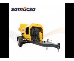 Samacsa, Andamios y maquinaria. Bomba de concreto