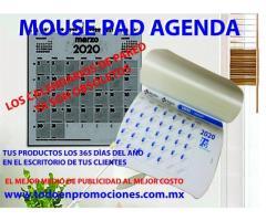 AGENDAS EN FORMA DE MOUSE PAD PERSONALIZADAS