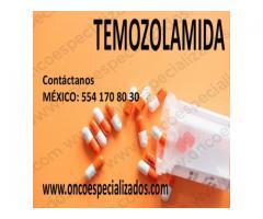 Temozolomida nombre comercial en México