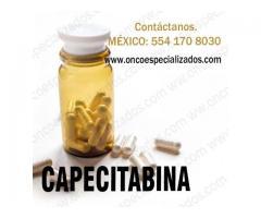 Comprar capecitabina 500 mg en México