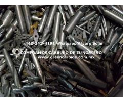 COMPRA SCRAP DE CARBURO EN TORREON
