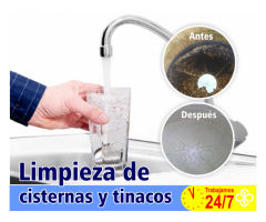 Lavado de cisternas y tinacos