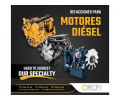 Refacciones y Piezas para Motores Diésel