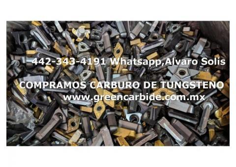 COMPRA INSERTOS USADOS DE CARBURO EN NAUCALPAN